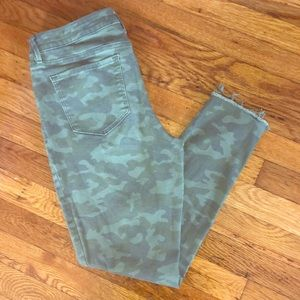 These are camouflage Jeans From Old Navy.